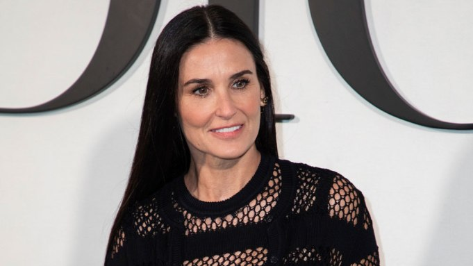 Actress Demi Moore arrives for the