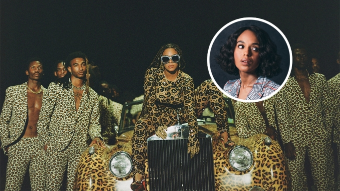 Kerry Washington Beyonce Black is King