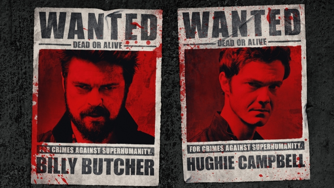 Butcher and Hughie Wanted Posters from