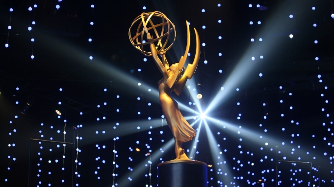 An Emmy Statue is seen during