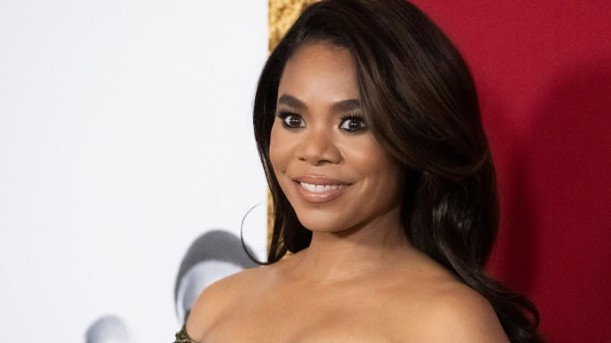 Regina Hall attends the premiere of