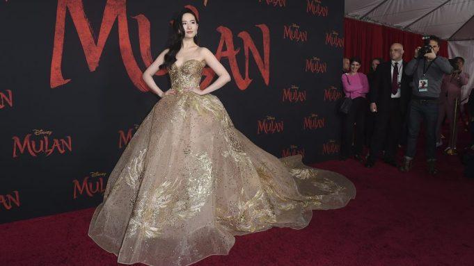 Yifei Liu Mulan premiere