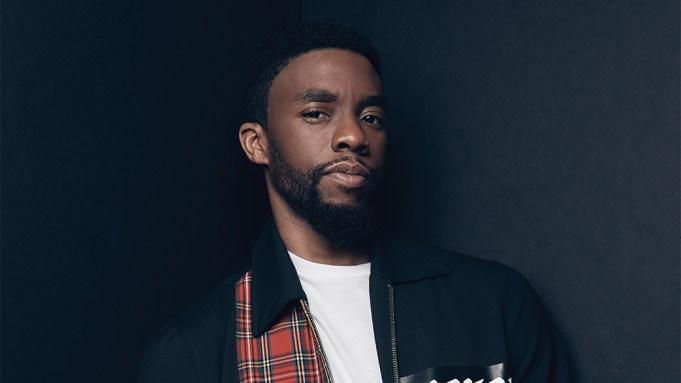 Chadwick Boseman Dead Variety Portrait