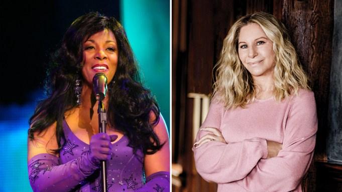 Donna Summer Barbra Streisand