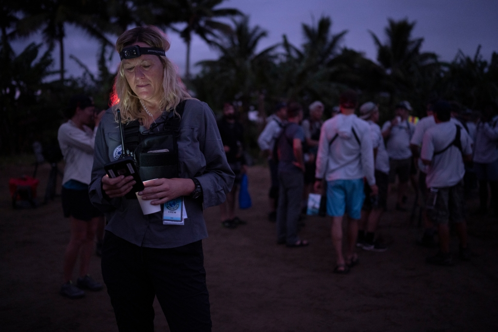 Lisa Hennessy during the 2019 Eco-Challenge adventure race in Fiji on Tuesday, September 10, 2019. (Corey Rich/Amazon)