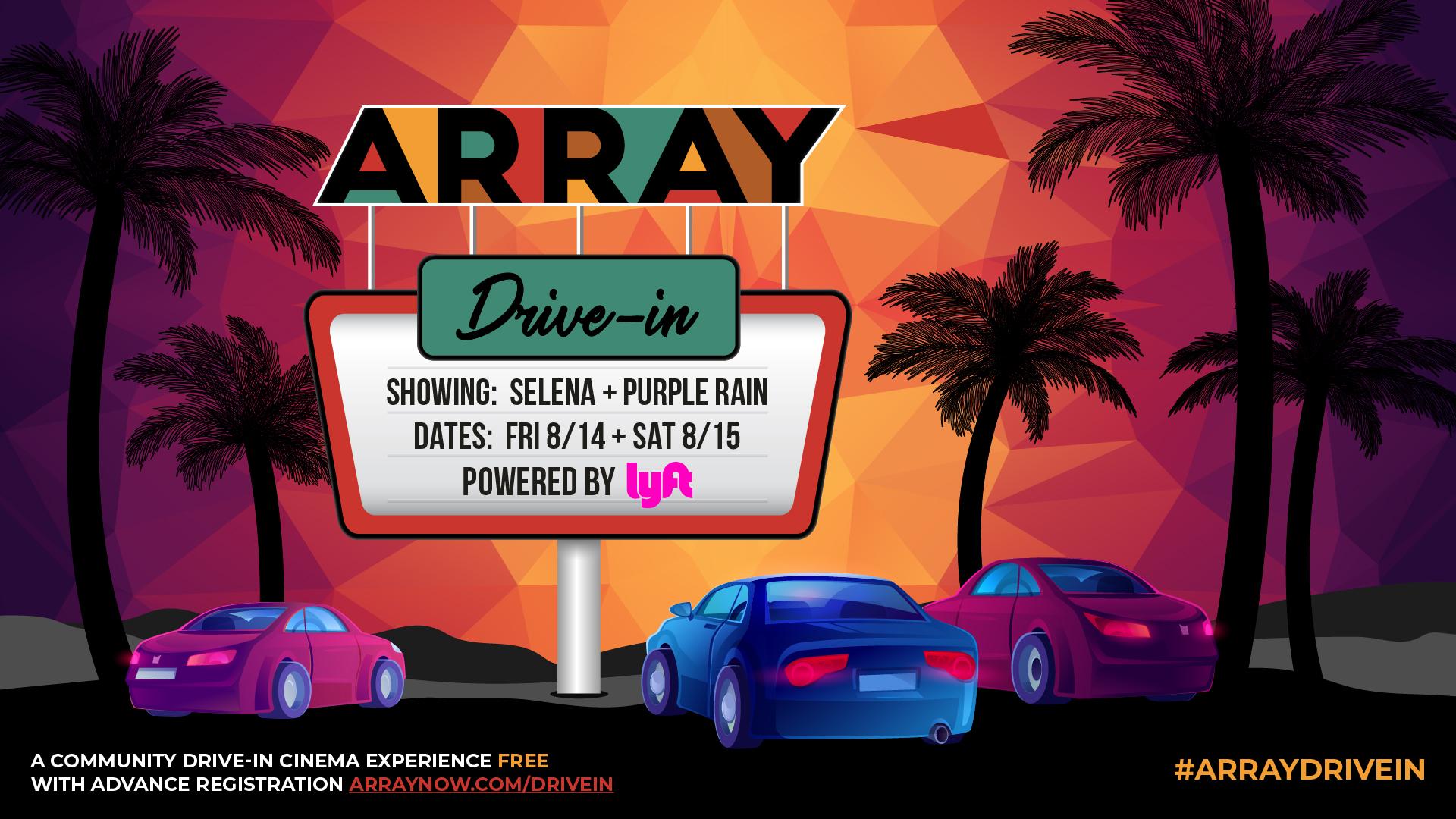 Ava DuVernay Array Drive In