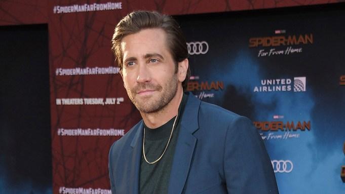 Jake Gyllenhaal arrives at the SPIDER-MAN