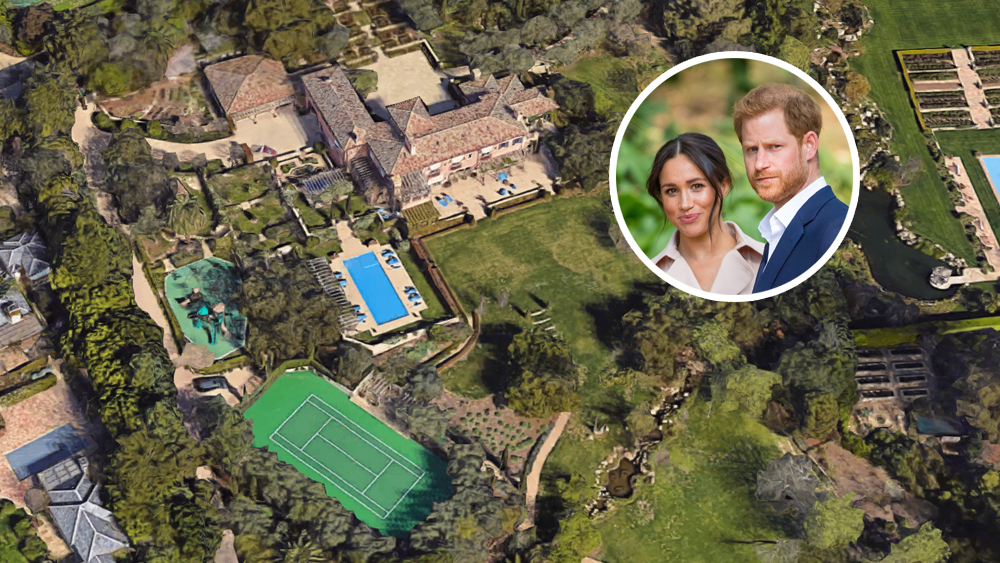 The Best Meghan Markle Harry House Santa Barbara