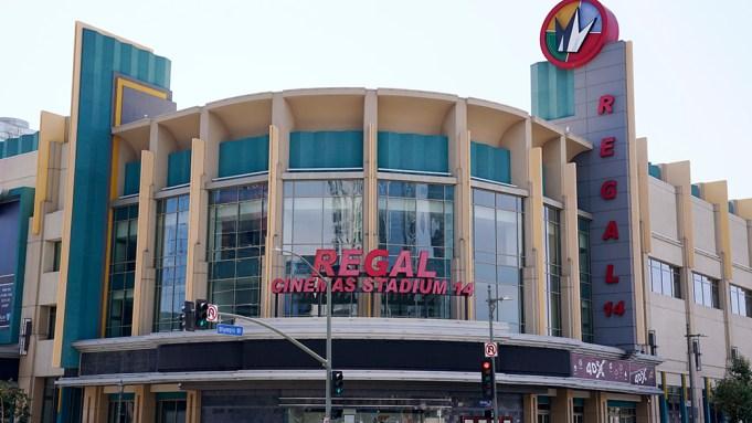 The Regal Cinemas L.A. Live Stadium
