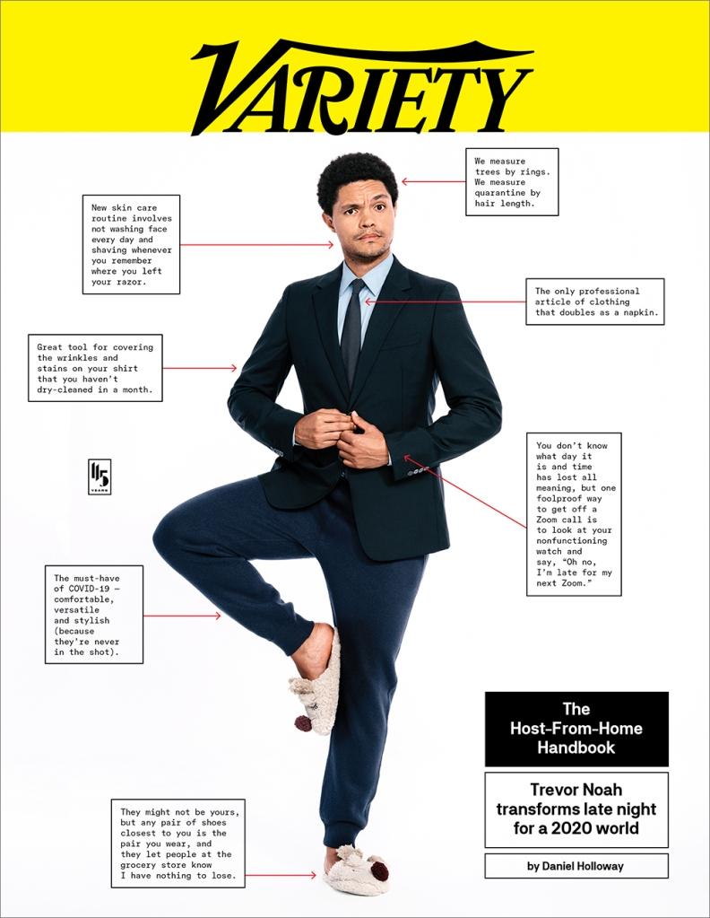 Trevor Noah Variety Cover