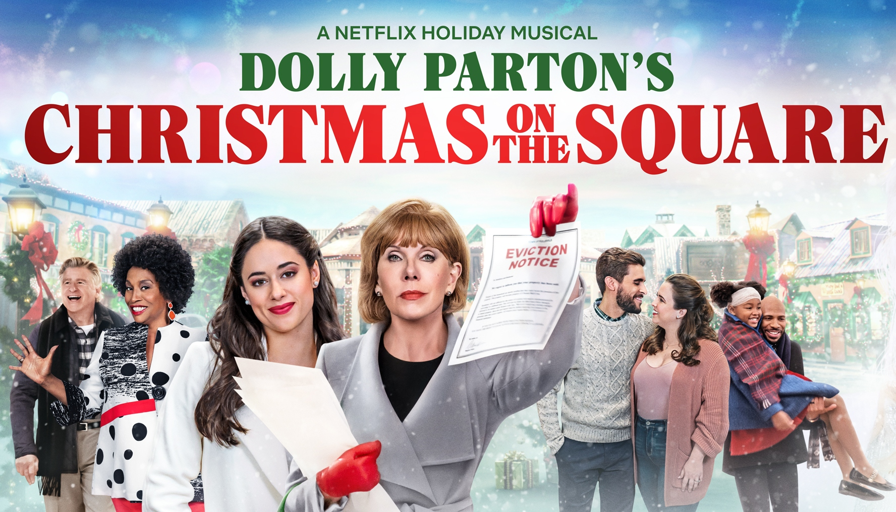 Netflix Announces 'Dolly Parton's Christmas on the Square' (Roundup) - Variety