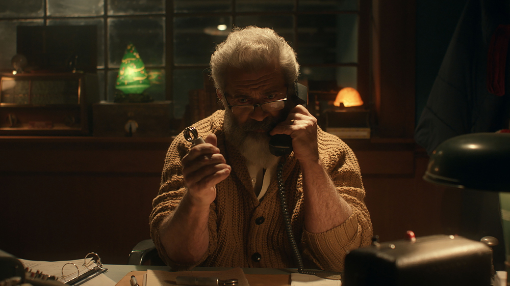 'Fatman' Review: Mel Gibson Plays Santa Claus in a Movie that Will Feel like a Christmas Gift to the Gibson Faithful and a Stunt to Anyone Else