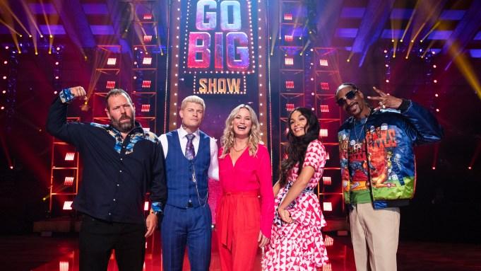 TBS Go Big Show Snoop Dogg, Cody Rhodes, Jennifer Nettles, Rosario Dawson, Bert Kreischer