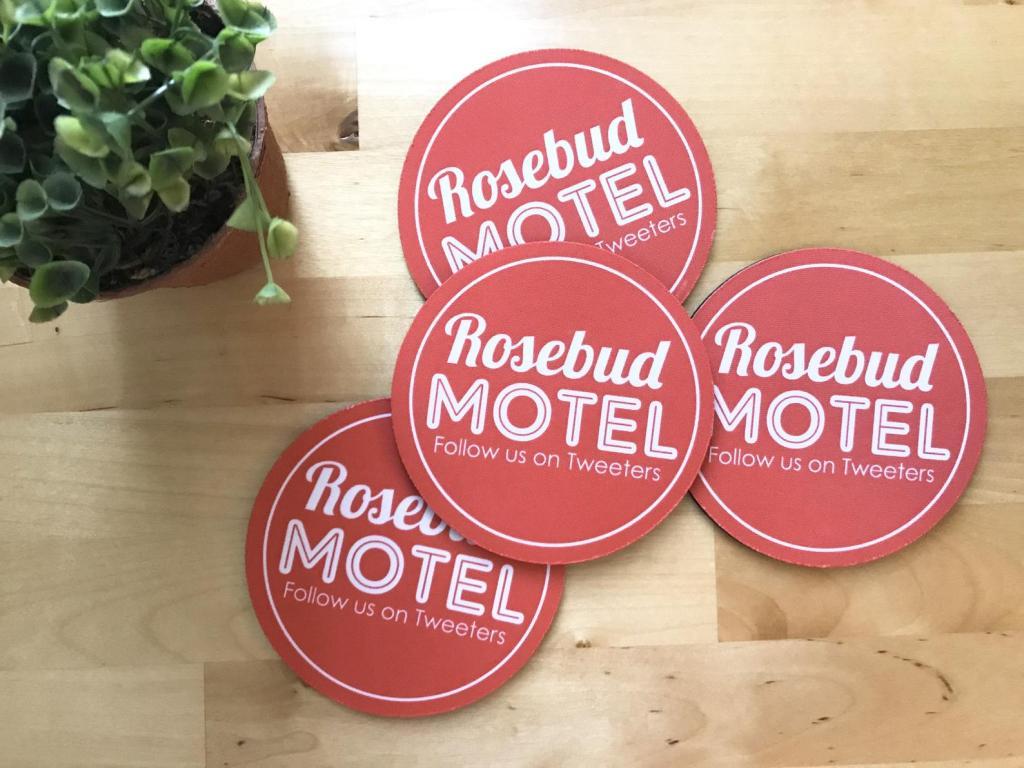 Rosebud Motel Coasters