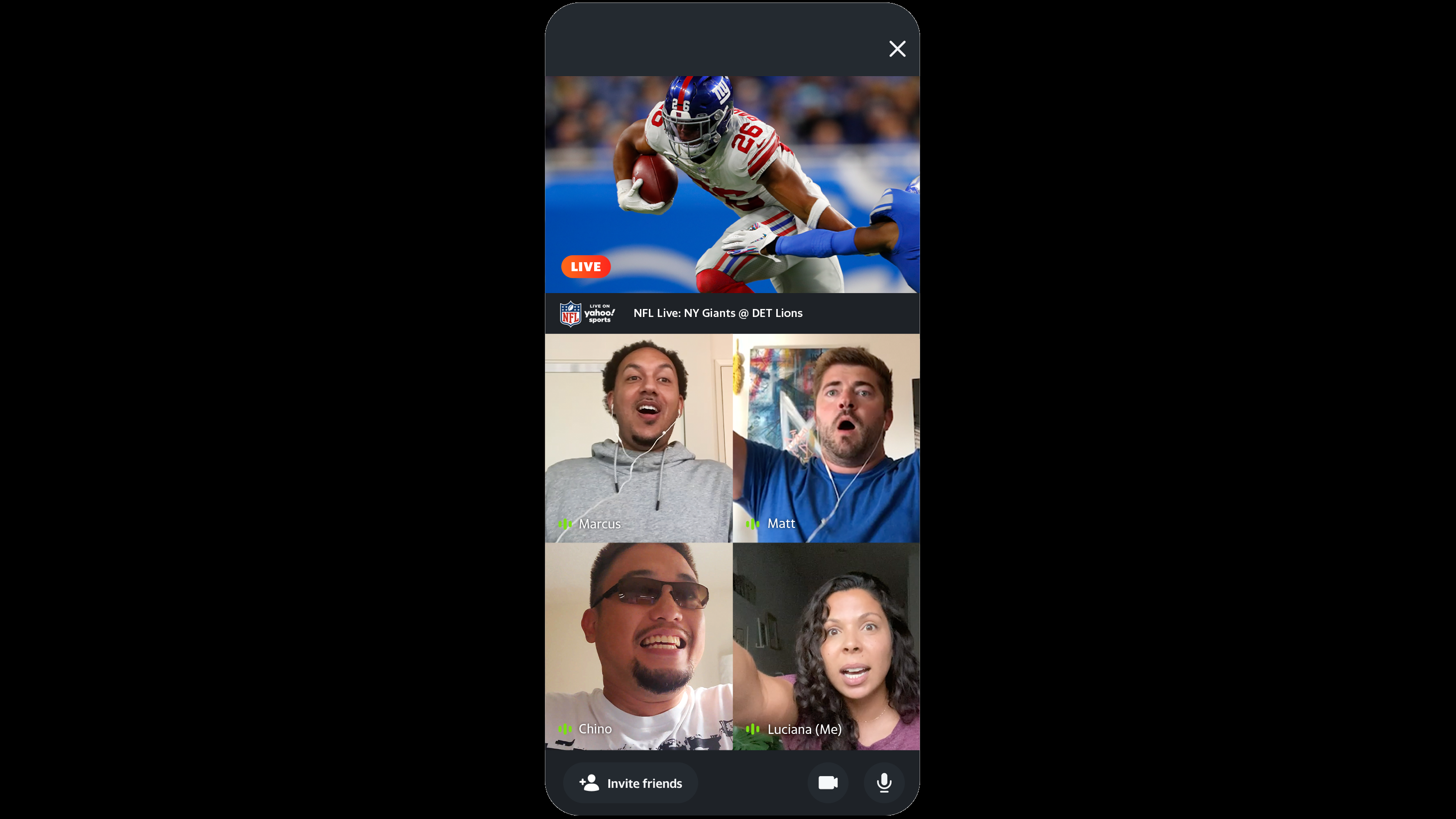 Nfl Free Live Streaming Games On Yahoo Sports Add Watch Together Variety
