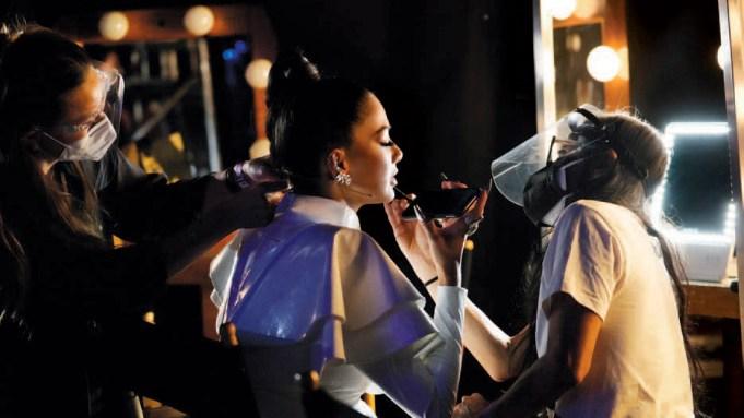 Nicole Scherzinger Masked Singer COVID-19