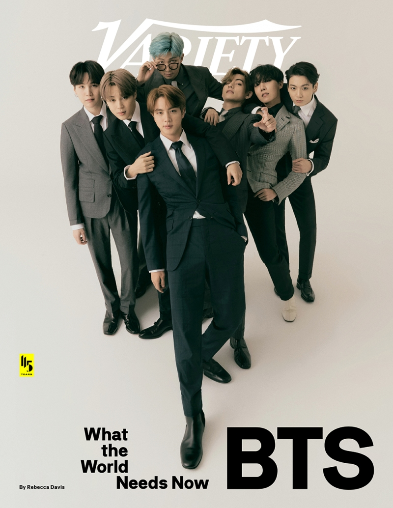 BTS on Variety See Every Cover   Variety