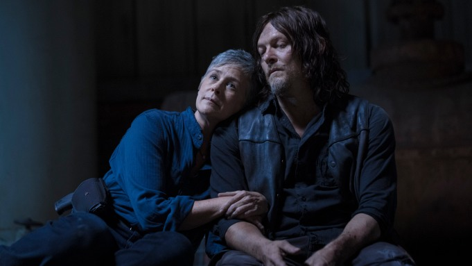 Norman Reedus as Daryl Dixon, Melissa