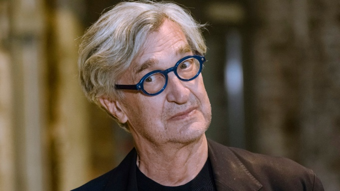Director Wim Wenders attends the Zeise