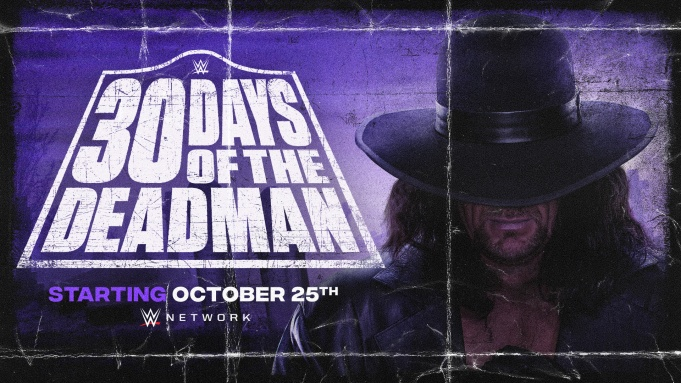 WWE Undertaker 30 Days of the