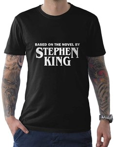 Stephen King t-shirt Amazon