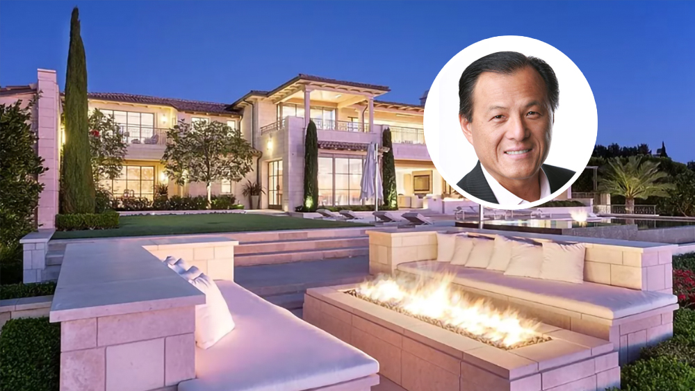 LoanDepot's Anthony Hsieh Pays Record $61 Million for Orange County Mansion