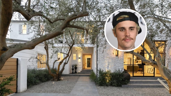 Justin Bieber House Beverly Hills