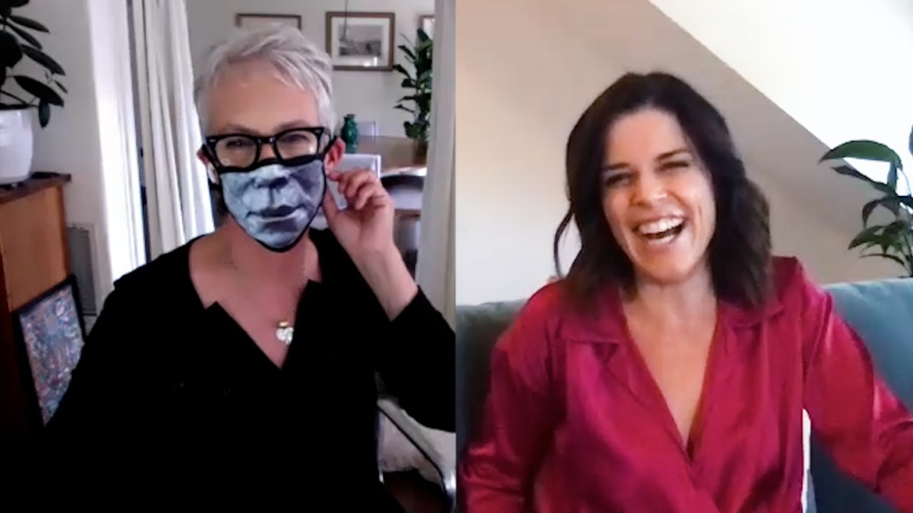 Jamie Lee Curtis And Neve Campbell Compare Their Reigns As Scream Queens  - cover