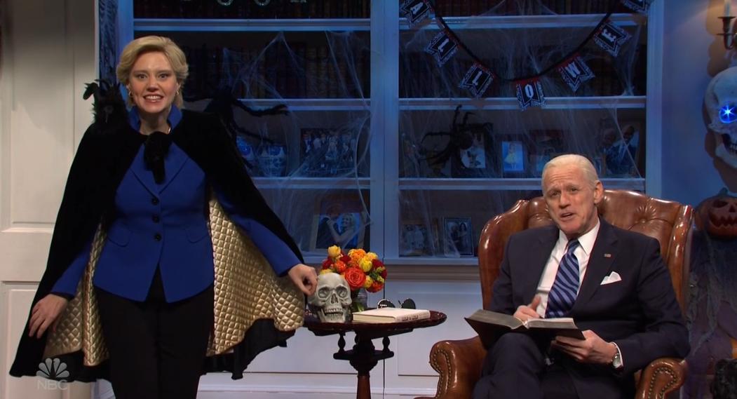 Saturday Night Live Kate Mckinnon Reprises Role As Hillary Clinton Variety