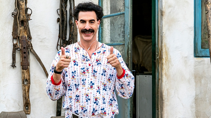 New 'Borat' Film Opens with Blackface Content Warning from Amazon