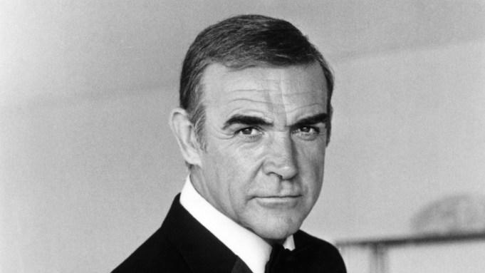NEVER SAY NEVER AGAIN, Sean Connery,