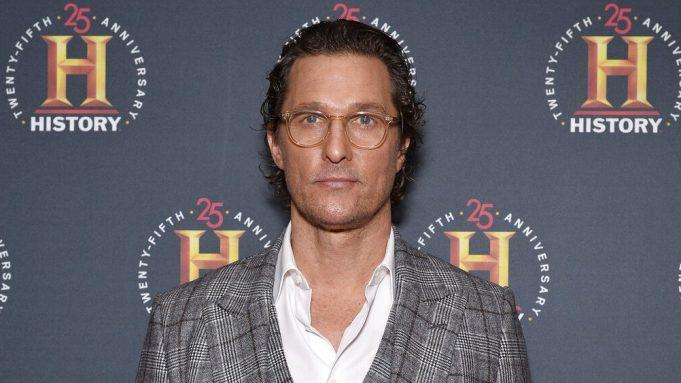 "Actor Matthew McConaughey attends the ""HISTORYTalks:"