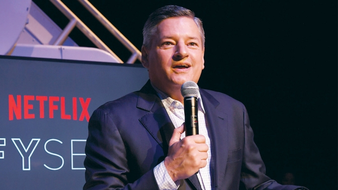 Netflix Ted Sarandos Variety Vanguard Award