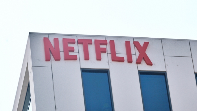 The Netflix Building on Sunset Blvd