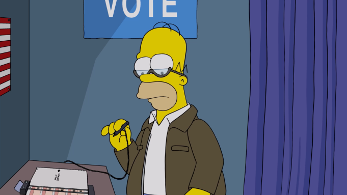 The Simpsons Treehouse Of Horror Lists 50 Reasons Not To Vote Trump Variety