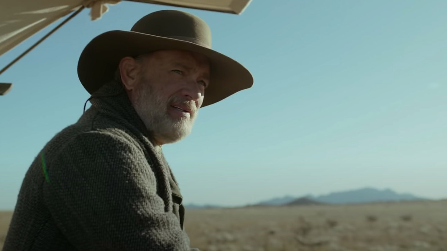 News of the World trailer - Tom Hanks in a possible Oscar winner?