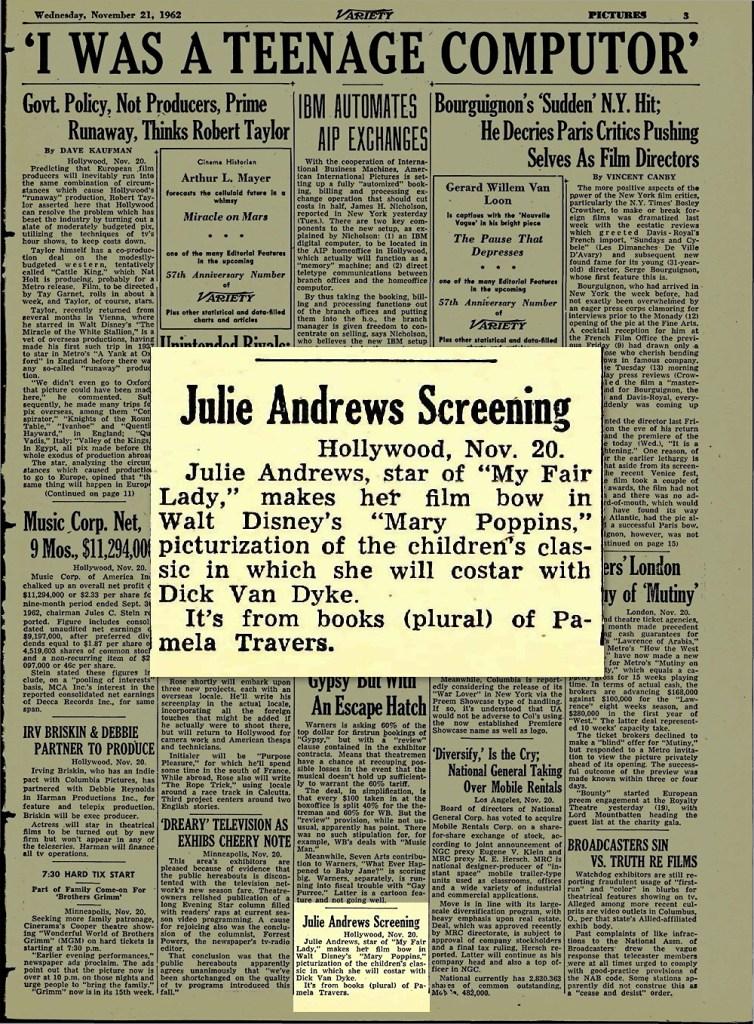 Julie Andrews Variety