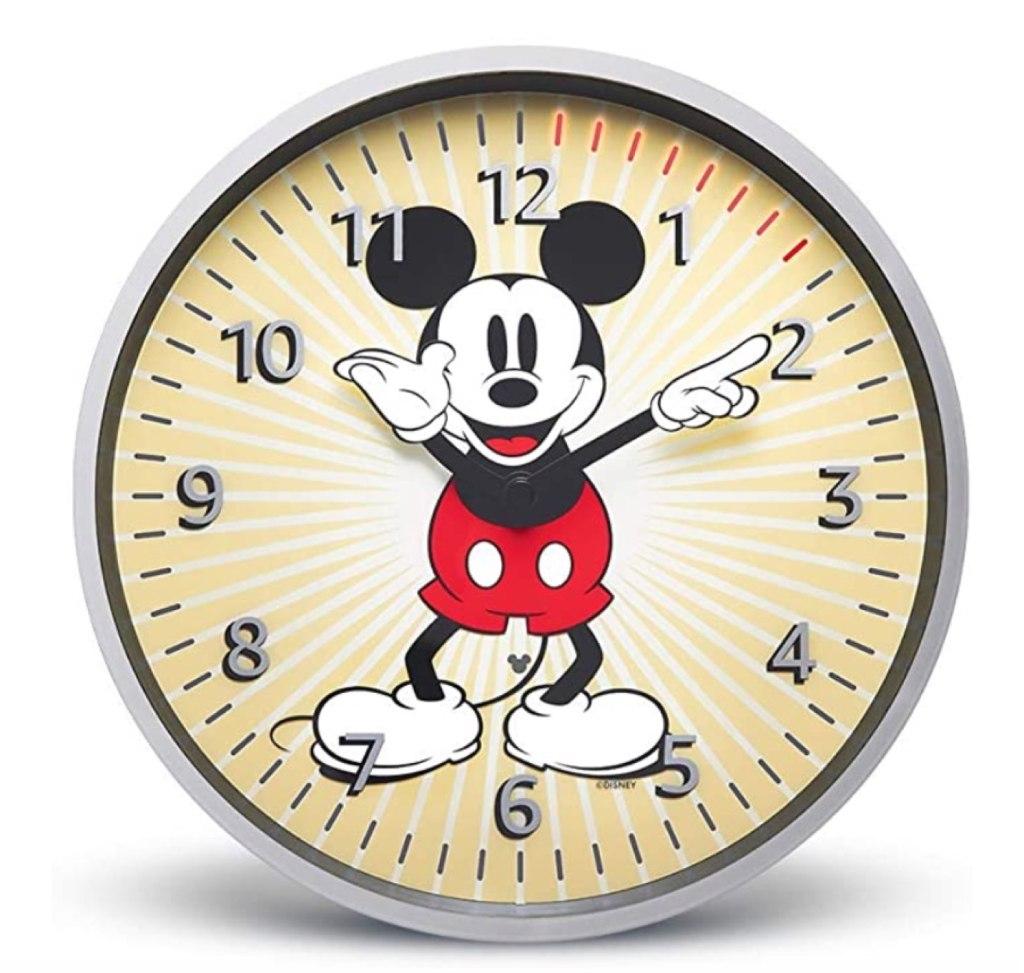 Echo Wall Clock Mickey Mouse
