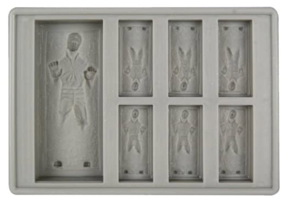 Han Solo Ice Cube Tray Star Wars Gifts