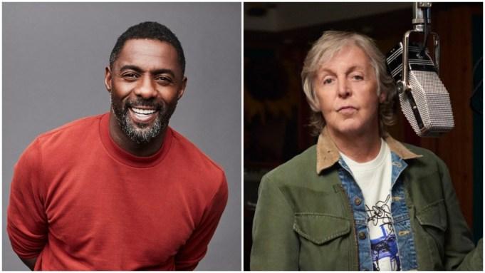 Idris Elba Paul McCartney