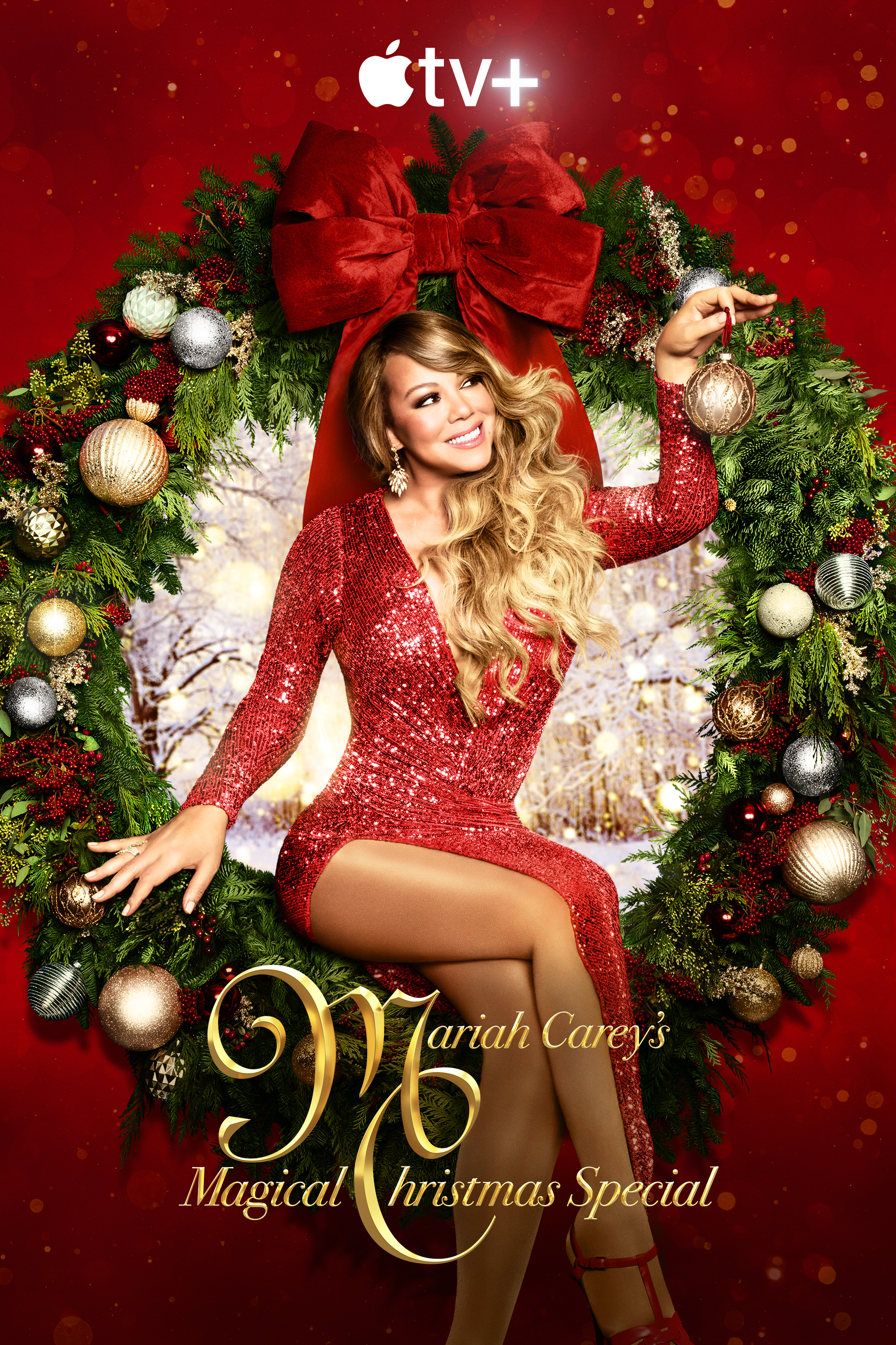 Mariah Carey's Magical Christmas Special Key Art Complete