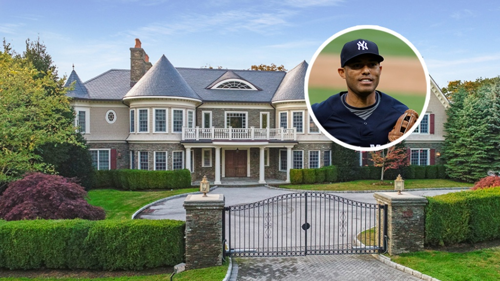 Baseball Legend Mariano Rivera Strikes Out of Westchester Mansion