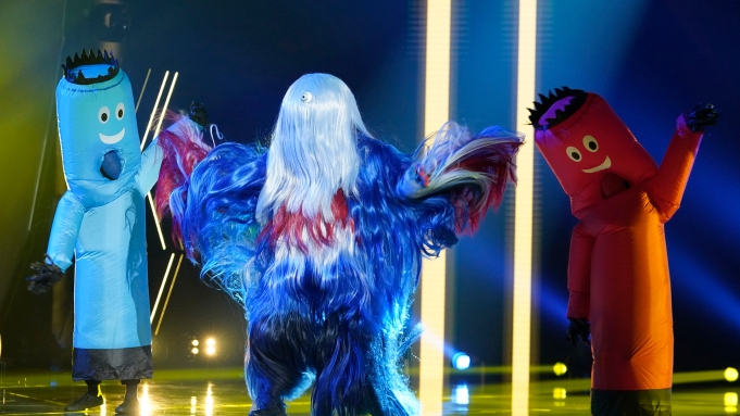 THE MASKED SINGER: Whatchamacallit in the