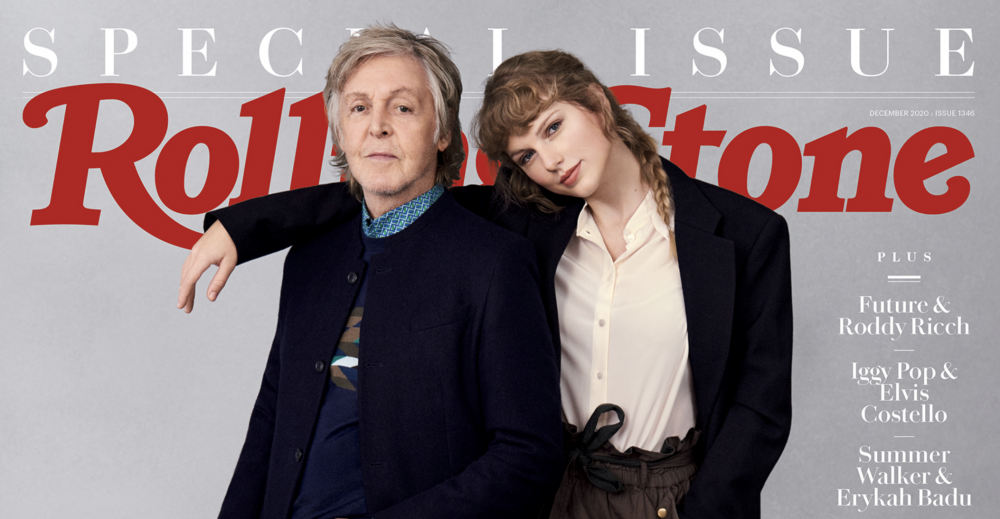 Taylor Swift And Paul Mccartney Share Cozy Rolling Stone Conversation Variety