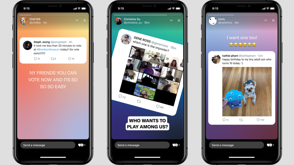Twitter Unleashes 'Fleets' With 24-Hour Life Span, Offering Alternative to Permanent Tweets