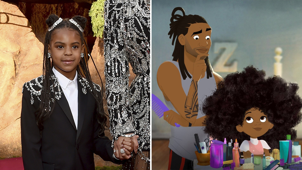 "Blue Ivy Carter to Narrate ""Hair Love"" Audiobook Based on Oscar-Winning Short Film"