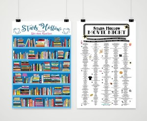 Gilmore Girls Reading Challenge Poster
