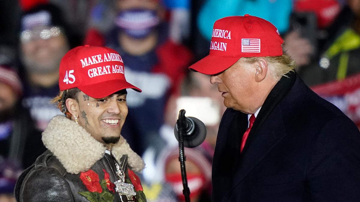 Lil Pump Speaks At Trump Rally Gets Called Little Pimp Variety