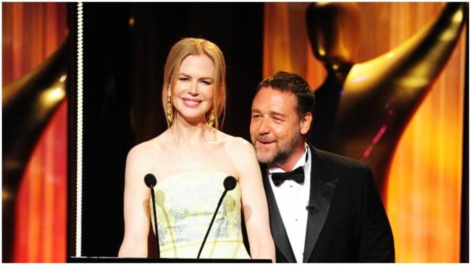 Russell Crowe, Nicole Kidman, AACTA