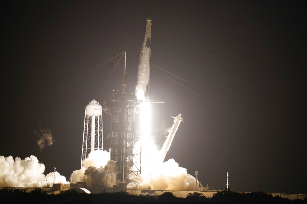 SpaceX Successfully Launches Second Crewed Mission to ISS